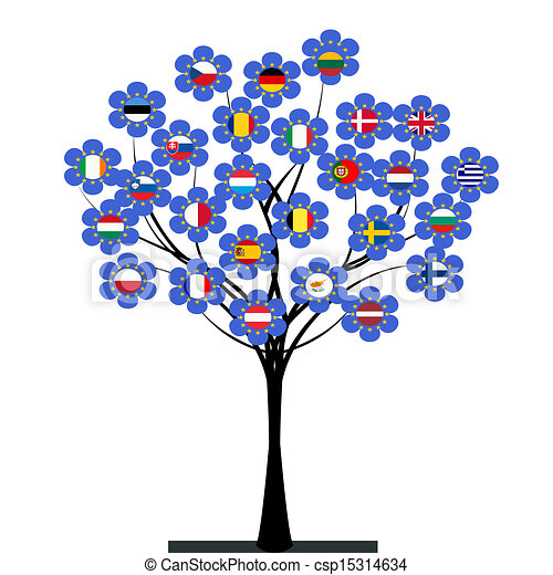 組合, 木, ヨーロッパ - csp15314634