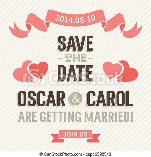 結婚式の招待 - csp16598543