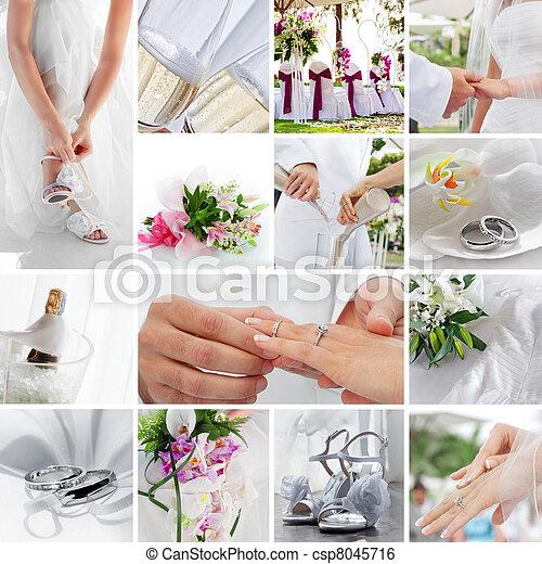 結婚式 - csp8045716
