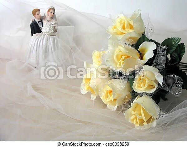 結婚式 - csp0038259