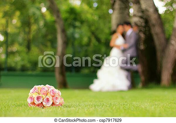 結婚式 - csp7917629