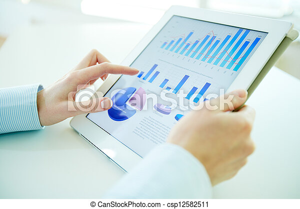 統計數字, 數字 - csp12582511