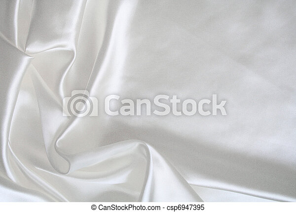 絹, 背景, 結婚式, 滑らかである, 優雅である, 白 - csp6947395