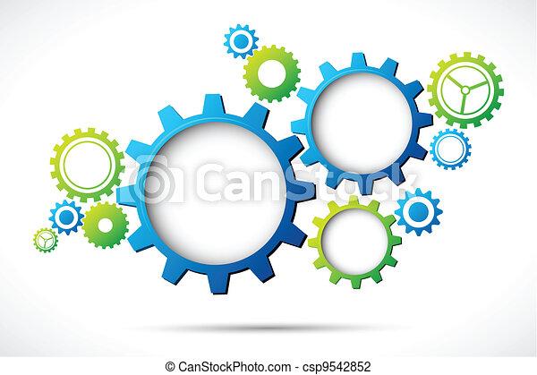 網, 抽象的なデザイン - csp9542852