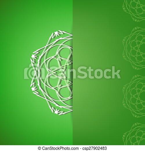 緑の背景 - csp27902483