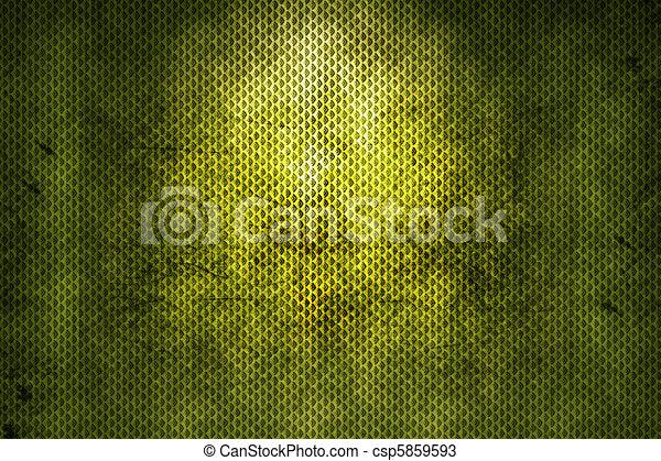 緑, グランジ, 背景 - csp5859593