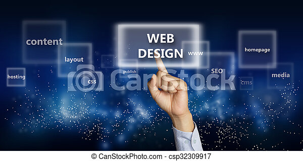 网, 概念, 设计 - csp32309917