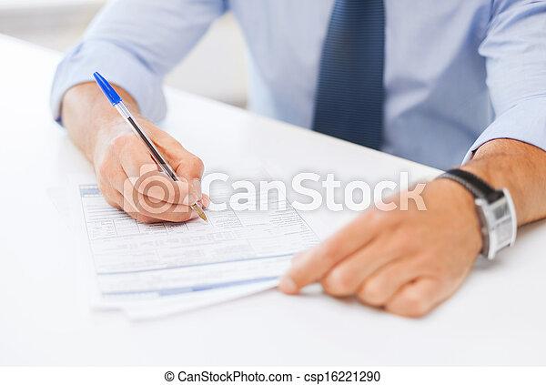 署名の契約, 人 - csp16221290