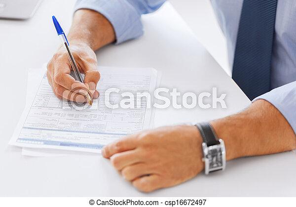 署名の契約, 人 - csp16672497