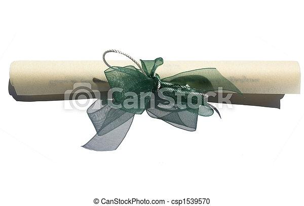 羊皮紙 - csp1539570