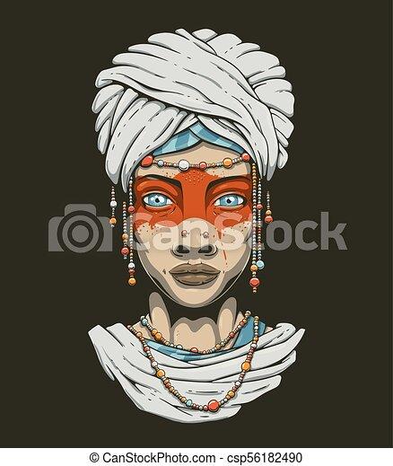 美しい女性 イラスト 美しい 国民 若い 衣装 女の子 青 Feathers