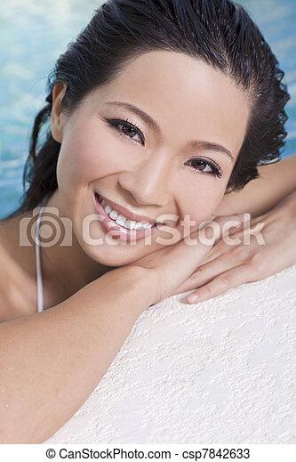 美しい女性, 中国語, 東洋人, ア...