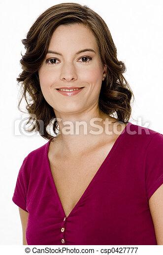 美しい女性 - csp0427777