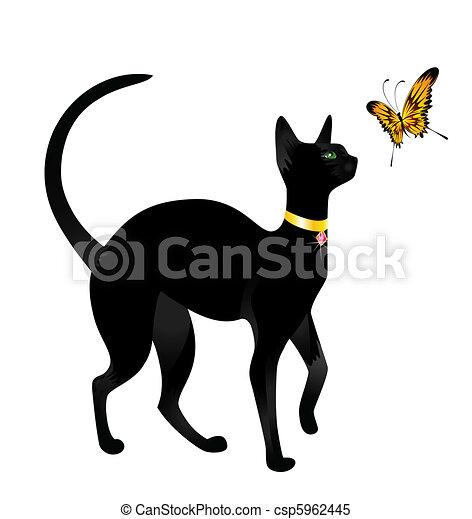 シャム猫のイラスト無料フリー