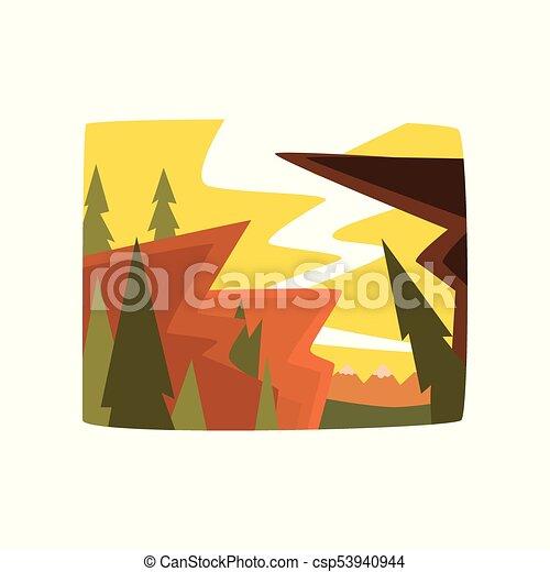 美しい 夏 イラスト 朝 背景 ベクトル 山 横 風景 美しい 夏