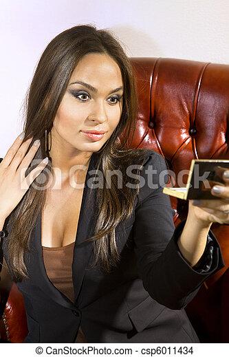 美しい, 女性実業家 - csp6011434