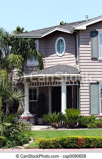 美しい, 家 - csp0090658