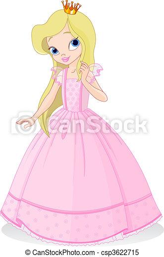 美しい, 王女 - csp3622715