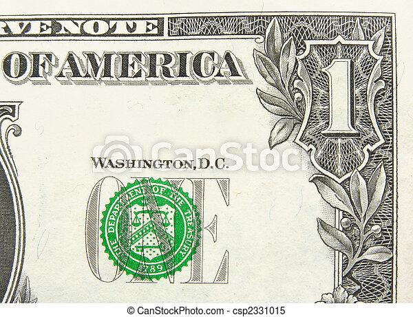 美元, 一 - csp2331015