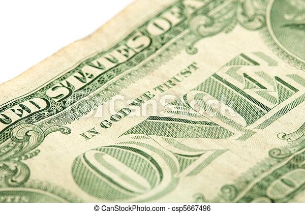 美元, 一 - csp5667496