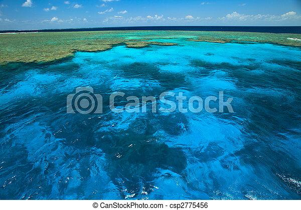 美麗, 偉大, 蛤, 障礙物, 公園, 天空, 水, 礁石, 花園 - csp2775456
