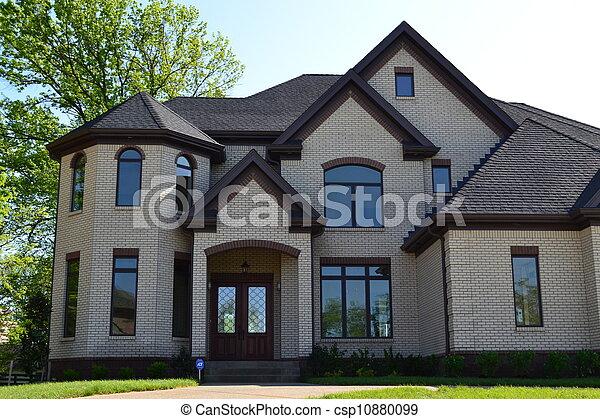 美麗, 家, 郊區 - csp10880099