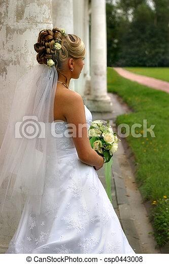 美麗, 新娘 - csp0443008
