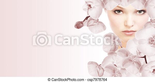 美麗, woman. - csp7978764
