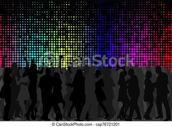 群集, ダンス - csp76721201