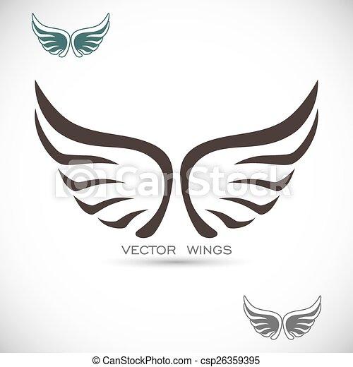 翼, ラベル - csp26359395