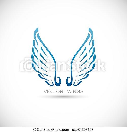 翼, ラベル - csp31893183