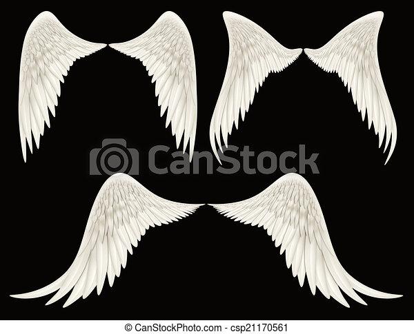 翼 天使 Wings ありなさい 切り抜き 天使 デジタル Composited