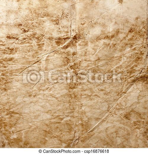 老, 羊皮纸 - csp16876618