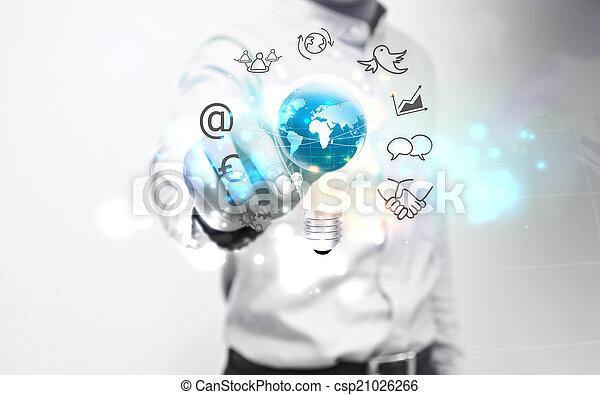 考え, ビジネス - csp21026266