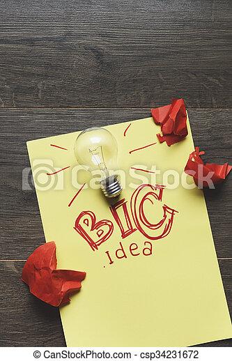 考え, ビジネス - csp34231672