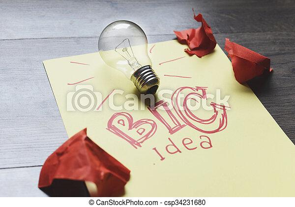 考え, ビジネス - csp34231680