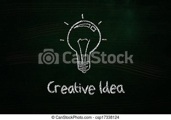 考え, 創造的 - csp17338124