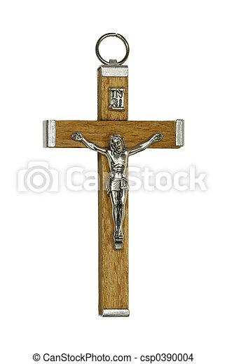 耶穌受難像 - csp0390004