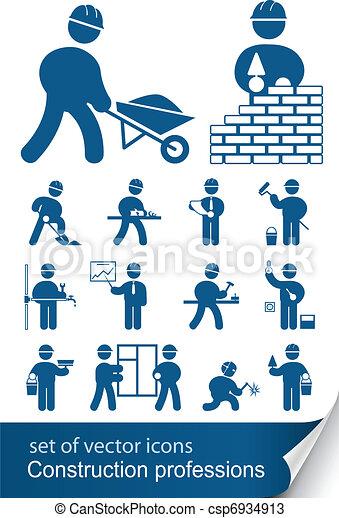 职业, 建设 - csp6934913