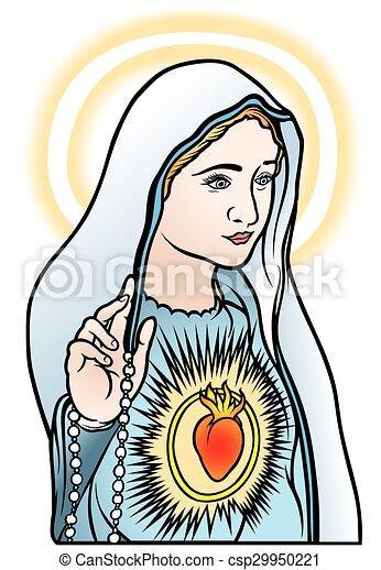 聖女瑪麗亞 - csp29950221
