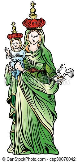 聖女瑪麗亞 - csp30070042