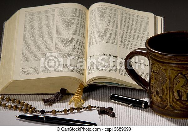 聖書, 神聖 - csp13689690
