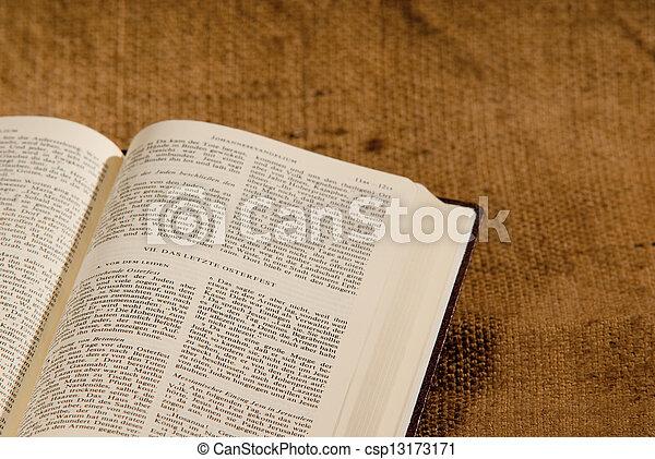 聖書, 神聖 - csp13173171
