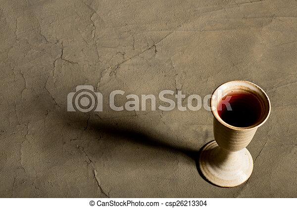 聖杯, ワイン - csp26213304