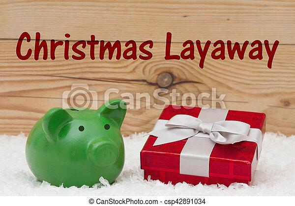 聖誕節, layaway - csp42891034