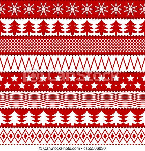 聖誕節, seamless, 結構 - csp5566830