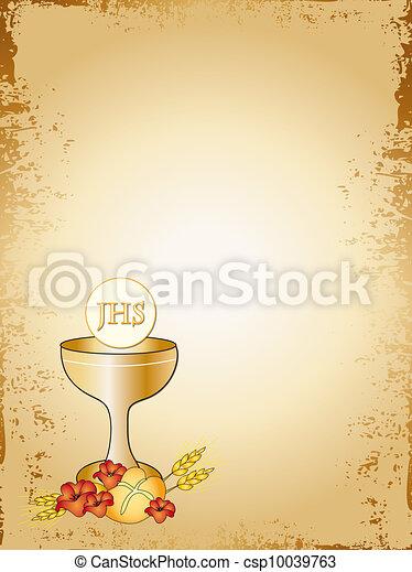 聖餐, 最初に - csp10039763