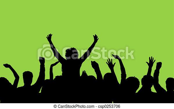 聴衆 - csp0253706