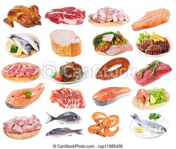 肉, 彙整 - csp11885436