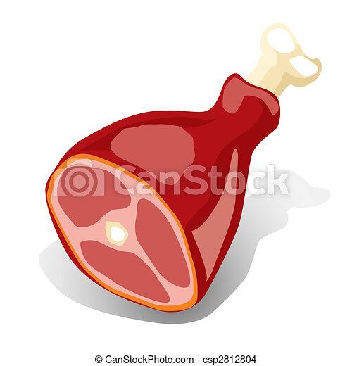 肉, (vector) - csp2812804